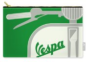 My Vespa - From Italy With Love - Green Carry-all Pouch