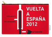 My Vuelta A Espana Minimal Poster Carry-all Pouch by Chungkong Art