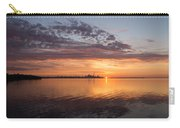 My World This Morning - Toronto Skyline At Sunrise Carry-all Pouch