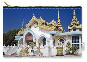 Myanmar Buddhist Temple Carry-all Pouch