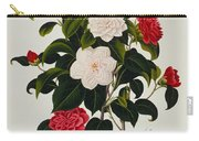 Myrtle Leaved Camellia Carry-all Pouch