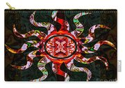 Mysterious Circumstances Abstract Sun Symbol Artwork Carry-all Pouch
