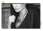 Mysterious Obsession Bw Palm Springs Carry-all Pouch
