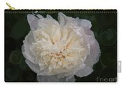 Mysterious White Peony Abstract Painting Carry-all Pouch