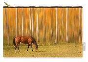 Mystic Autumn Grazing Horse Carry-all Pouch