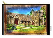 Mystic Church - Featured In Comfortable Art Group Carry-all Pouch
