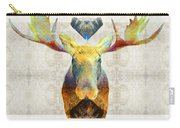 Mystic Moose Art By Sharon Cummings Carry-all Pouch