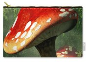 Mystic Mushroom Carry-all Pouch by Daniel Eskridge