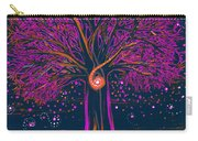 Mystic Spiral Tree 1 Pink By Jrr Carry-all Pouch