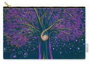 Mystic Spiral Tree 1 Purple Carry-all Pouch