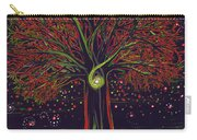 Mystic Spiral Tree Red By Jrr Carry-all Pouch