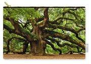Mystical Angel Oak Tree Carry-all Pouch by Louis Dallara