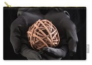 Mystical Hands Holding A Woven Ball Carry-all Pouch