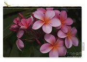 Na Lei Pua Melia O Wailua - Pink Tropical Plumeria Hawaii Carry-all Pouch