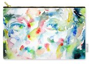 Nabokov Vladimir - Watercolor Portrait Carry-all Pouch