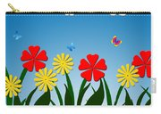 Naive Nature Scene Carry-all Pouch