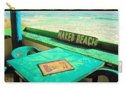 Naked Beach Cozumel Carry-all Pouch