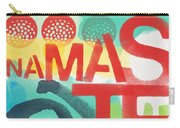 Namaste- Contemporary Abstract Art Carry-all Pouch