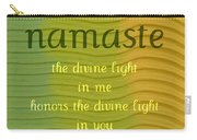 Namaste Carry-all Pouch by Michelle Calkins