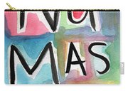 Namaste Watercolor Carry-all Pouch by Linda Woods