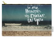 Namaste Waves  Carry-all Pouch
