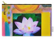 Namaste With Singing Bowl Carry-all Pouch