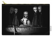 Nameless Faces Carry-all Pouch