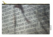 Names On A Wall Carry-all Pouch