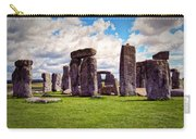Nancy's Stonehenge Carry-all Pouch