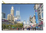 Nanjing Road In Shanghai China Carry-all Pouch