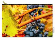 Napa Valley Grapes, California Carry-all Pouch