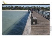 Naples Historic Pier Carry-all Pouch