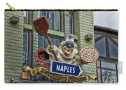 Naples Pizzeria Signage Downtown Disneyland Carry-all Pouch