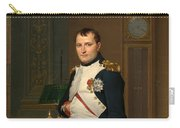 Emperor Napoleon In His Study At The Tuileries Carry-all Pouch