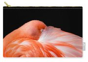 Napping Flamingo Carry-all Pouch