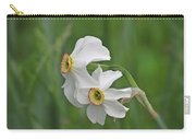 Narcissus Pair Carry-all Pouch