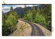 Narrow Gauge Tracks In Silver Country Carry-all Pouch