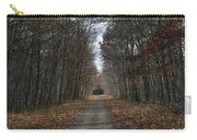 Narrow Path On Recovery Road Carry-all Pouch