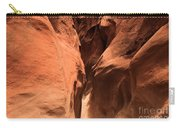Narrow Red Rock Slots Carry-all Pouch by Adam Jewell