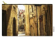 Narrow Street In Perigueux Carry-all Pouch by Elena Elisseeva