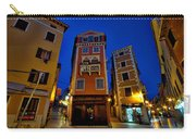 Narrow Streets And Buildings - Rovinj Croatia Carry-all Pouch
