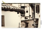 Narrow Streets Of Albarracin  Sepia Carry-all Pouch