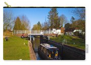 Narrowboat In Lock Carry-all Pouch