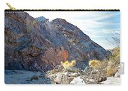 Narrowing Of Trail In Big Painted Canyon Trail In Mecca Hills-ca Carry-all Pouch