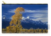 Narrowleaf Cottonwoods Fall Color Teton Carry-all Pouch
