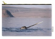 Narwhal Surfacing Baffin Isl Canada Carry-all Pouch