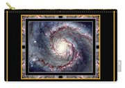 Nasa Whirlpool Galaxy Heaven Bless The Lord Praise And Exalt Him Above All Forever Carry-all Pouch by Rose Santuci-Sofranko