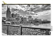 Nashville From The Shelby Bridge Carry-all Pouch