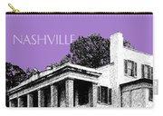 Nashville Skyline Belle Meade Plantation - Violet Carry-all Pouch