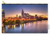 Nashville Skyline Carry-all Pouch by Brett Engle